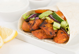 Chicken Tikka Pitta Pockets